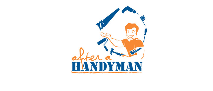 Logo for a handyman company, they wanted their logo to express the various roles they offer.