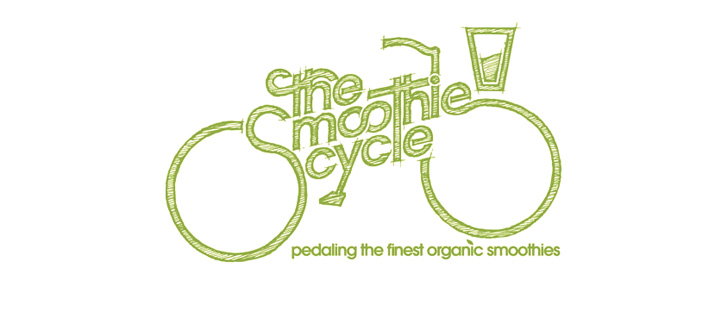 Logo for my sister's smoothie making business, she has a great business with a great aesthetic, I'm very happy to play my part.
